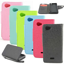 Wallet MLT Leather Flip Case Cover For Sony Xperia J ST26i ST26a