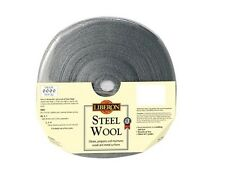 LIBERON 1kg HIGH QUALITY STEEL WIRE WOOL CHOICE OF GRADES 0000 TO 4 FREE POST