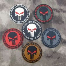 DEVGRU Seal Team The punisher GOD Military Tactical Morale PVC Patch