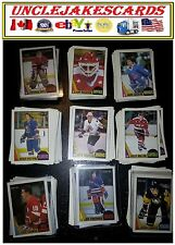 1987-88 OPC MINNESOTA NORTH STARS Select from LIST SEE SCAN CARD O-PEE-CHEE