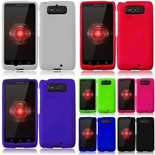 Plain Rubberized Hard Phone Case Cover For Motorola Droid Mini XT1030