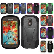 For Samsung Galaxy Light T399 Hybrid Hard Cell Phone Case+Soft Silicone Cover