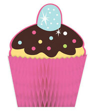 Assortment of cupcake party theme items Choose item