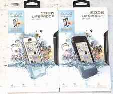100% AUTHENTIC iPhone 5C LifeProof Nuud Waterproof Case/Cover - White OR Black