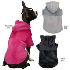 Zack & Zoey Glacier Plush Cuddler Dog Hoodie Coat Jacket Northface Style Coat