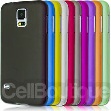 NEW MATTE SLIM CASE COVER FOR SAMSUNG GALAXY S4 S5 & S4 MINI Screen Protector