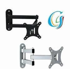 "LCD LED 3D TV WALL BRACKET MOUNT TILT SWIVEL 14 15 16 17 18 19 20 22 23"" INCHES"