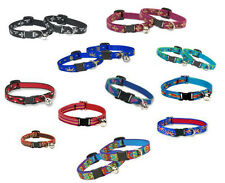 Lupine Retired Cat Collar Breakaway Cat Collar With or Without  Bell