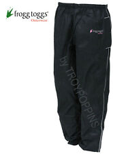 FROGG TOGGS RAIN GEAR-FT83532 BLACK SWEET T WOMENS PANTS REFLECTIVE RIDING WEAR