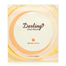 ETUDE HOUSE Darling Snail Healing Sheet Mask 25g / Made in Korea