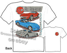 Corvette Shirts C3 Corvette Apparel Chevy T Shirts Chevrolet Shirt 68-82 Vette
