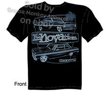 Chevy Shirt Nova T Shirts Muscle Car Clothing 1962 1963 1964 1965 1966 1967 Tee
