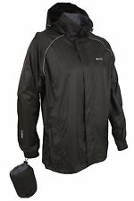 Pakka Mens Waterproof Lightweight Packable Rain Running Sport Hooded Jacket Coat