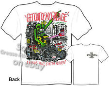 Rat Fink Shirt Big Daddy T Shirt Hot Rod Apparel Get Out Of My Garage Clothing