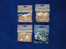 NEW AMSCAN AND PAPER ART BABY SHOWER VARIETY CONFETTI -1 OZ PACKAGE