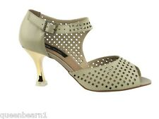 CD3003G Black Leather Salsa Ballroom Latin Tango Dance Shoes 2 5 and 3 inches