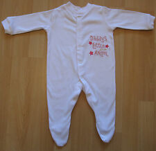 Daddy's Little Angel Baby Grow Vest Babies Clothes Cute Funny Gift Boy Girl