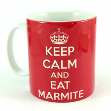 NEW KEEP CALM AND EAT MARMITE GIFT MUG CUP PRESENT CARRY ON LOVE HATE