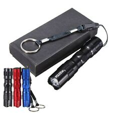 3W LED Mini Portable Handy Super Bright Flashlight Torch Police Waterproof + Box