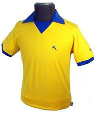 SALE! NEW MENS BUKTA RETRO INDIE 70S STYLE FOOTBALL T-SHIRT TEE TOP Best YELLOW