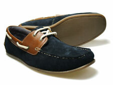 Red Tape Horner Men's Navy Suede Boat Shoes UK size 7-11 RRP £45 Free P&P!
