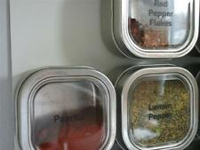 6 oz Bravada™ - Set of 6 - Spice Tins only or add Magnetic Spice Rack Options