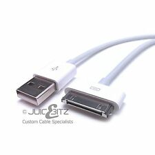1m 2m 3m Long USB Data Cable Charger Sync Lead for iPad 1 2 3 iPhone 3 4 4S iPod