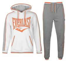 Everlast Mens Tracksuit Charcoal Hoody Top & Jogging Pants Size S - 4XL