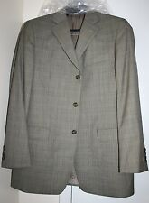 Jos A Bank Sport Coat Jacket Suit Olive Houndstooth - Sz 42