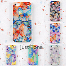 Chic Hollow Butterfly Soft Silicone Skin Case Cover Back f. Apple iPhone 5/5S