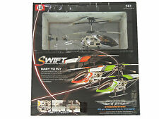GYRO Metal 3-Channel SH Micro Mini RC Helicopter 6020-1