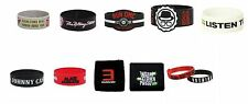 NEW Music Rockband  Wristband Rubber Bracelet Terry Cloth  Authentic