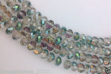 New green rose faceted swarovski crystal glass beads free shipping