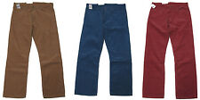Polo Ralph Lauren Corduroy Mens Vintage Straight Fit Red Blue Brown Pants New