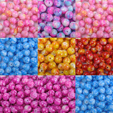 Top Quality Mixed Round Millefiori glass beads 4MM 6MM 8MM