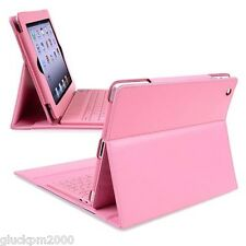 Bluetooth Wireless Keyboard with Leather Case Stand Cover for Apple iPad 2 3 4