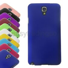 Hard Rubber Case for Samsung Galaxy Note 3 Neo N7505 N750 + Screen Protector