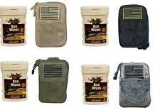 Tactical MOLLE Utility Wallet Phone Iphone Camera Mp3 Player Case + Gun Cleaner