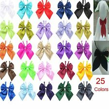 Wholesale 25 Colors Polyester Silk Pet Dog Bow ties Adjustable Pet Dog Neckties