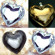 Hot handmade Lampwork Murano Glass Heart-Shape beaded Pendant for Necklace P205