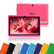 "IRULU New Tablet PC Multi-Color 7"" Google Android 4.2 Dual Core & Cameras 8GB"