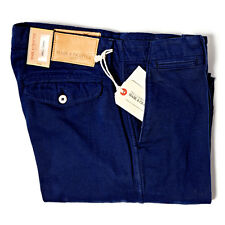 LEVI'S MADE AND CRAFTED DRILL CHINO MEDIEVAL BLUE RRP £145