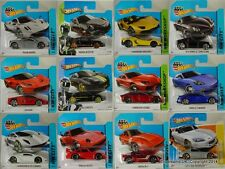 HOTWHEELS SUPER CARS Lamborghini Porsche Ferrari Pagani YOU CHOOSE!