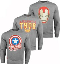 Addict Marvel Comics Crew Neck Jumpers Official Sweaters