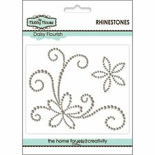 The Hobby House Self Adhesive  Pearl / Rhinestone Flourishes
