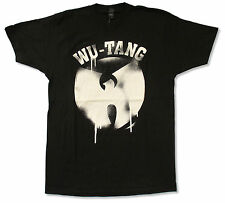 "WU-TANG CLAN ""DRIPPING LOGO"" BLACK T-SHIRT NEW OFFICIAL ADULT"