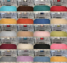 New Husky Plain Thick Soft Machine Washable Large Small Bedroom Rugs Mat Cheap