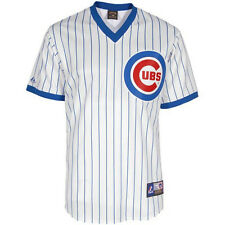 Chicago Cubs Cooperstown Home White Jersey Men's SZ (S-2XL) MAJESTIC