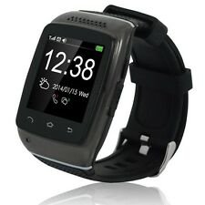 Bluetooth Sync Call SMS Touch Smart Wrist Watch for iPhone Android Anti-lost