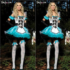 hot srlling Alice in Wonderland women cosplay Princess dress Maid colthes X795